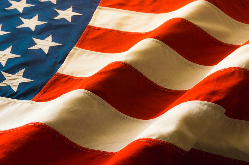 United States Flag detail